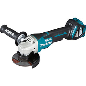 Makita 18V 115mm Lxt Brushless Paddle Switch Angle Grinder Body Only DGA467Z