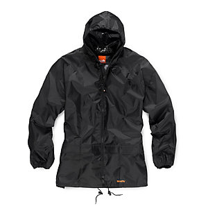Scruffs 2 Piece Black Waterproof Rain Suit L