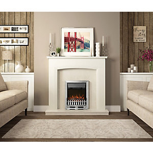 Be Modern Bayden Classic Electric Fire - Manual - Chrome 01947x