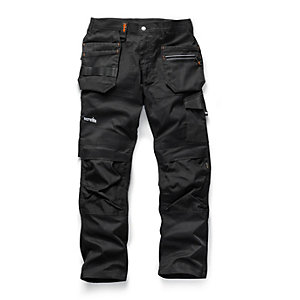 Scruffs Trade Flex Trouser Black 32R