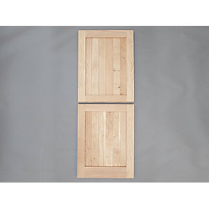 Heritage Solid Oak Custom Size Framed Ledged External Stable Door