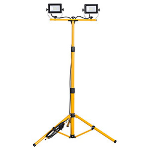 2 x 20W LED Worklight with Tripod