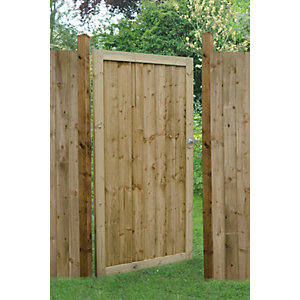 Forest Garden Pressure Treated Featheredge Gate 1800 x 920mm