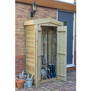 Apex Tall Outdoor Store - Pressure Treated