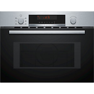 Bosch Serie 4 Compact Oven with Microwave and Pop Out Controls Stainless Steel CMA583MS0B