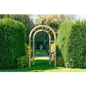 Infinity Garden Arch Pressure Treated Timber