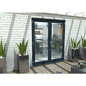 54mm Grey French Door Set