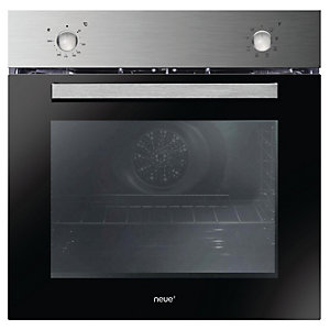neue Single Fan Oven with Rotary Control Stainless Steel FNP600X