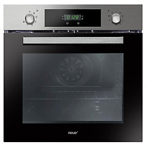 neue Multifunction Oven Triple Glazed with Touch Control Stainless Steel FNPC65X