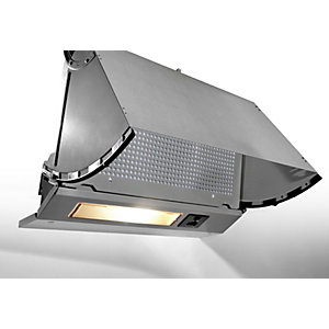 Unbranded Integrated 3 Speed Hood with LED Lights Grey NBP613NGR