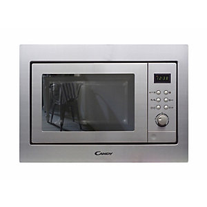 neue Solo Built in Microwave with Push Button Rotary Control Stainless Steel NE200X
