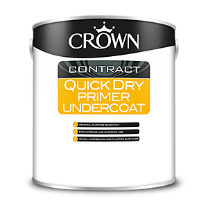Crown Contract Crown Quick Dry Primer Undercoat 2.5L
