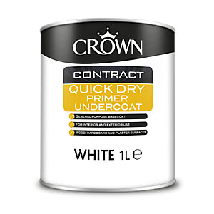 Crown Contract Crown Quick Dry Primer Undercoat 1L