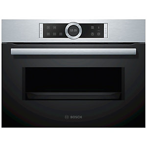 Bosch Serie 8 Compact Microwave with Autopilot 7 CFA634GS1B