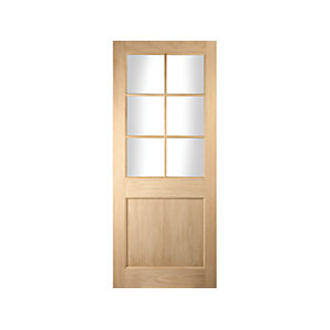 Oregon Cottage 44mm White Oak Fire Door Fd30 1981x762mm