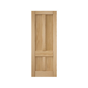 4 Panel Oak Deco Interior Door
