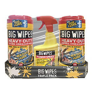 Big Wipes Spray 3 Pack