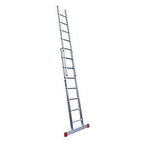 Lyte EN131-2 Non-Professional 2 Section Extension Ladder 2x7 Rung