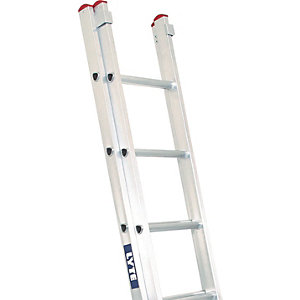 Lyte EN131-2 Non-Professional 2 Section Extension Ladder 2x11 Rung