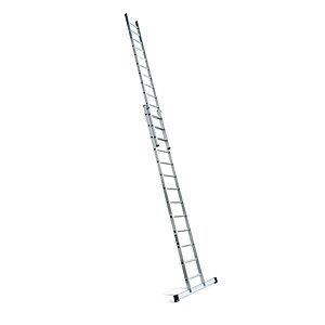 Lyte Industrial EN131-2 Professional 2 Section Extension Ladder 2x13 Rung