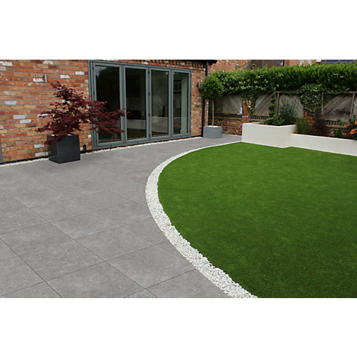 Natural Paving Vitripiaza Lunamare Vitrified Porcelain 600mm x 600mm x 20mm - Pack of 64