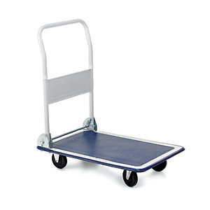Toptruck Flatbed Trolley 810H x 470W x 730mm D - 150kg Capacity