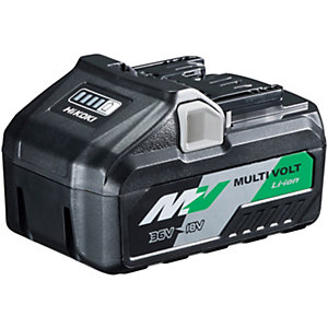 Hikoki 36V/18V Multivolt Li-ion Battery 4.0AH/8.0AH