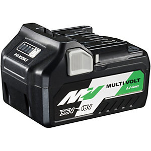 Hikoki 36V/18V Multivolt Li-ion Battery 2.5AH/5.0AH