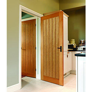 Oak Internal Prefinished Suffolk Door