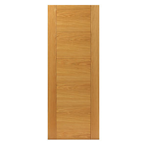 Oak Tigris Internal Prefinished Door 35 x 1981 x 762mm
