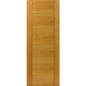 Jb Kind Oak Tigris Internal Prefinished Door 40 x 2040 x 626mm