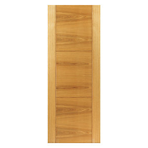 Jb Kind Oak Mistral Internal Prefinished Door 35 x 1981 x 533mm
