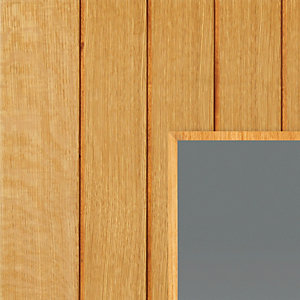 Oak Cherwell Internal Prefinished Glazed Door 35 x 1981 x 762mm