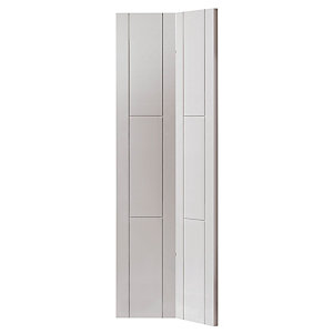 Jb Kind White Mistral Primed Bifold Internal Door 35 x 1981 x 762mm