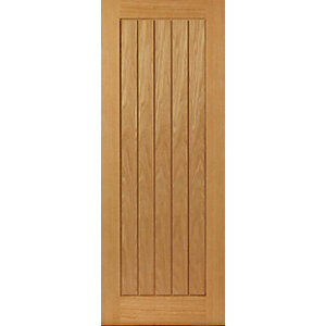 Oak Internal Prefinished Suffolk Fire Door FD30