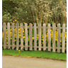 6ft x 3ft (1.8m x 0.9m) Pressure Treated Heavy Duty Pale Fence Panel - Pack
