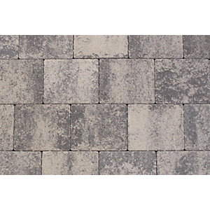 Tobermore Shannon Slate Concrete Block Paving. Two sizes in pack. 13.86m2 coverage.