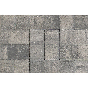 Tobermore Pedesta Slate decorative Concrete Block Paving 200x100x50mm.