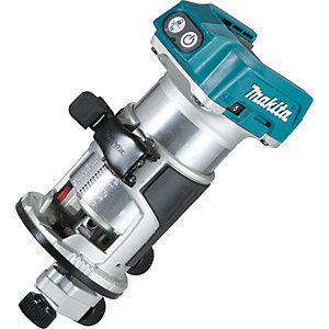 Makita DRT50ZX4 Lxt Brushless Router Trimmer Body Only 18V
