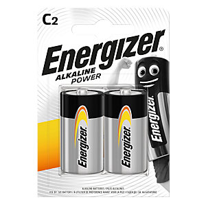 Energizer Alkaline Power C E93 BP Batteries 2 Pack (Box of 12 packs)