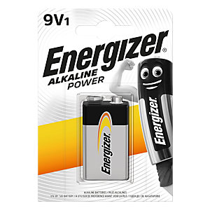 Energizer Alkaline Power 9V 522 BP Battery (Box of 12 packs)