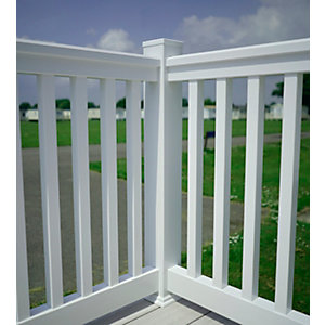 Composite Prime Corner Post Kit White 970 mm