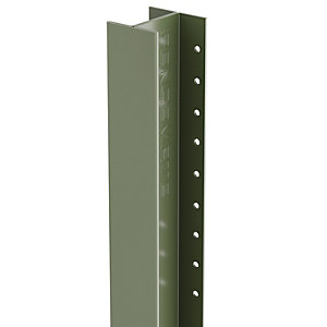 Durapost Classic Fence Post Olive Grey 48 x 2700mm Home Delivered