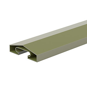 Durapost Fence Capping Rail Olive Grey 65mm 1830mm Home Delivered