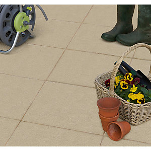 Marshalls Textured Utility Natural Paving 600x600x35mm