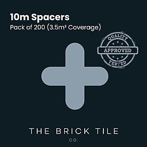 Brick Slip Tile 10mm Spacers Bag of 200