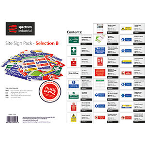 Spectrum Site Sign Pack - Selection B