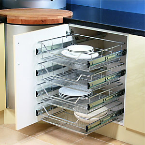 kitchen bin storage solutions fruit and vegetable drawers in the