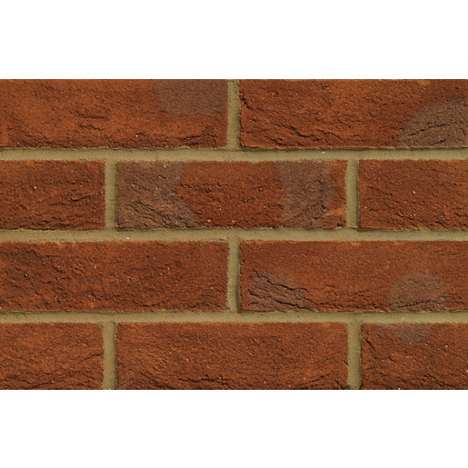 Forterra Facing Brick Oakthorpe Red Multi Stock - Pack of 495