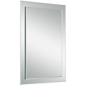 Iflo Rectangular Bevelled Mirror 600x400mm